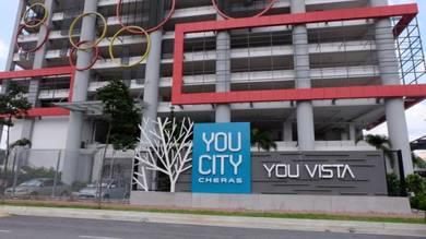 You city residence, cheras near mrt station