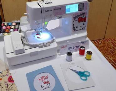 Mesin Jahit & Sulam Brother Nv980K Home Sew Tech