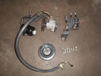 Set Power steering Pam SAGA , ISWARA 4G15