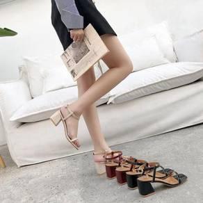 8054 Summer Fairy Wind Ankle Strap Heel