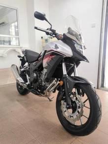 Honda CB500X unreg2018 (ABS)(17inc rim) tanpa muka