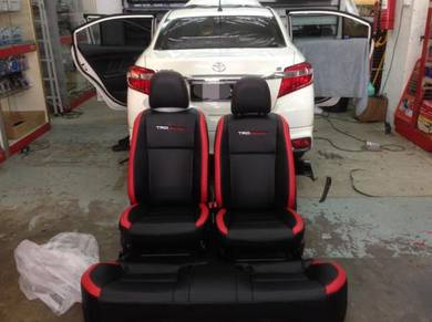 Toyota vios semi leather seat cover (TRD)