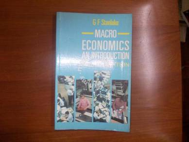 Macroeconomics -An introduction