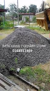 Kualiti bahan binaan Pasir, Tanah, Batu