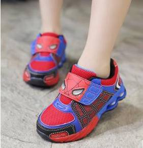 Spiderman kid shoes