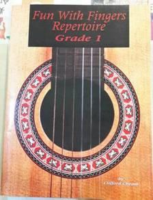 Fun With Fingers Repertorie Grade 1 ( Guitar Book)