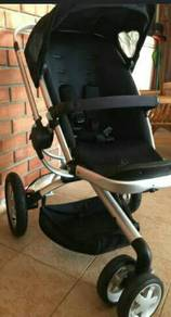 Quinny Buzz Stroller with Bucket and Canopy