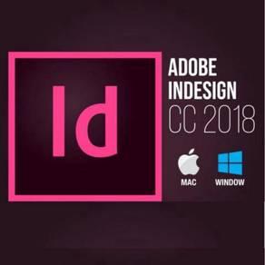 WINDOWS MAC Adobe InDesign CC 2018 ID