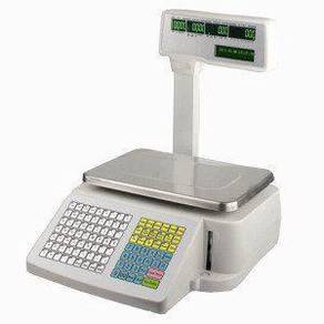 Electronic Weighing Barcode Label Scale timbang