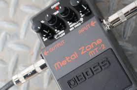Boss Metal Zone Guitar Pedal Effect