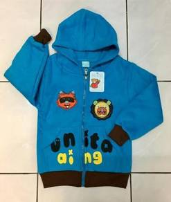 Baby boy jacket/sweater with hood ~ FREE SHIPPING