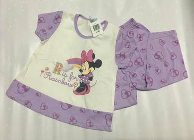 Disney Baby Minnie Mouse Light Purple Top & Pants