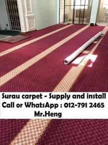 Merak Red Carpet Surau With InstallSJ73