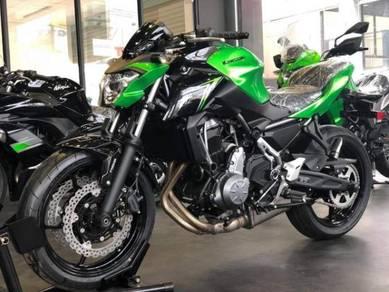 Kawasaki z650 z 650 ABS WANG MUKA LIMA RATUS