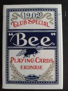 Erdnase 1902 Bee Playing Cards - Blue Smith No. 2