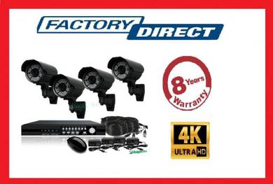 Cctv system 4ch/90ch/16cnh-Full HD system 4k hd