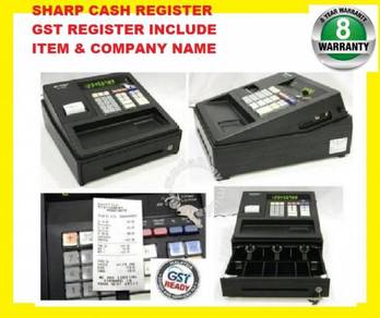 Sharp xea-147 / 107 cash register func cashier