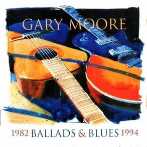 CD Cover - GARY MOORE - Ballads & Blues [1994]