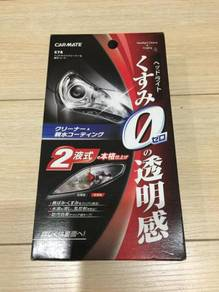 Car mate head lamp cleaner and coating