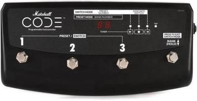 Marshall CODE footswitch Guitar Pedal