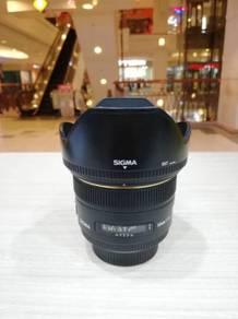 Sigma 50mm f1.4 ex dg hsm lens-nikon * 99% new