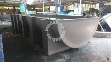 Fish Rearing Tank ( Fiberglass )