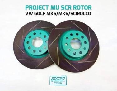 Project U Brake Disc Rotor Vw Golf Jetta Scirocco