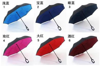 Foldable Inverted Lightweight Umbrella