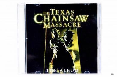 Original CD TEXAS CHAINSAW MASSACRE OST Soundtrack