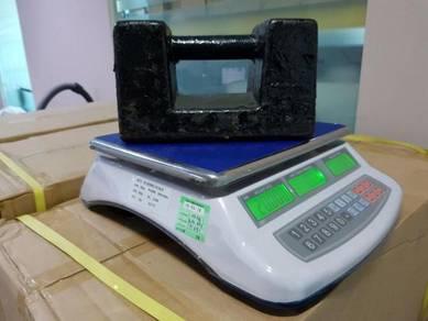 Digital weighing scale timbang 6 bulan warranty