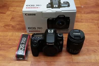 Canon 70D Fullbox Set with Kitlens