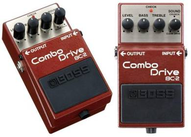 Boss BC-2 Combo Drive Guitar Effects Pedal (BC2)