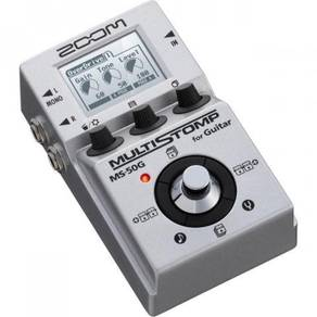 Zoom MS-50G MS50G MultiStomp Guitar Pedal