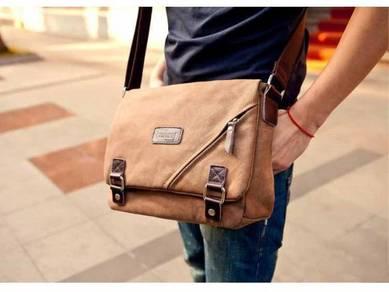 Casual Shoulder Bag Lelaki Messenger Beg