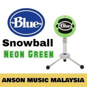 Blue Microphones Snowball Classic USB Mic,Neon Gr