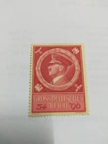 Unused adolf hitler stamp