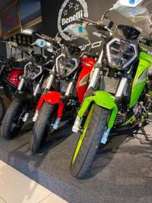 Naked bike 150s bayar muka rendah free apply