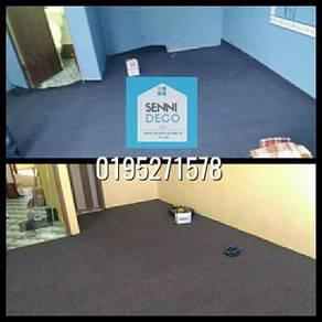 SD bekal pasang karpet pejabat carpet masjid