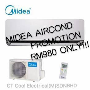 1Hp midea aircond hot sales