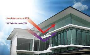 Tinted cermin Rumah office 12