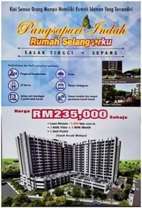 235k New Apartment at Salak Tinggi Sepang, Selangor