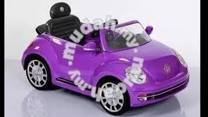 Volkswagen beetle children ride on car