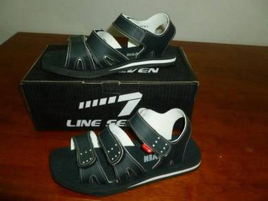 Sandal LINE 7 Black and White size 10