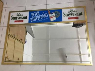 Peter Stuyvesant Iklan Signboard + Mirror Cermin