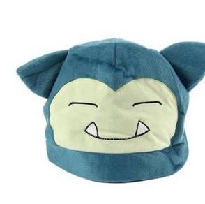 Pokemon snorlax cap pikachu