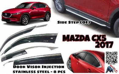 Mazda cx5 side step running board 2017