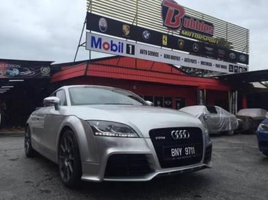 Audi tt 8j ttrs bumper conversion set
