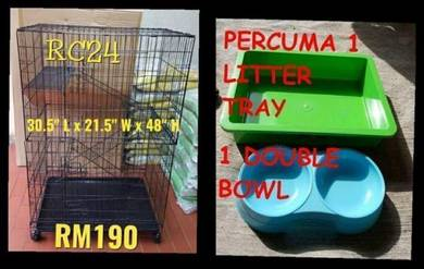 New big 3 level cat cage FREE 1 litter tray 1 bowl