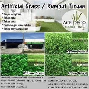 Artificial Grass / Rumput Tiruan Serat C-Shape 06