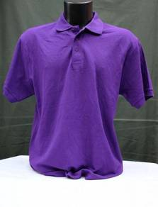 Borong Tshirt Kosong Polo 215gsm Kualiti